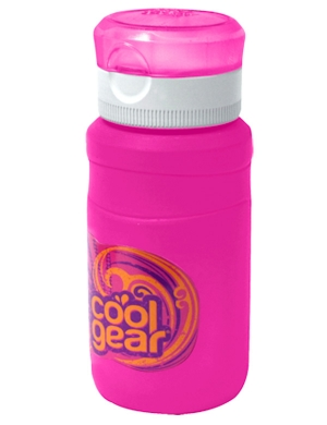 Cool Gear Breaker Bottle 11.8oz Pink